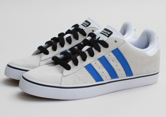adidas Skate Campus Vulc – Running White – Bluebird
