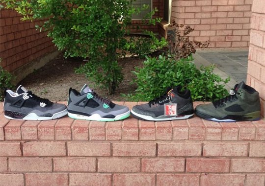"Air Jordan ""Fear Pack"" (and ""Green Glow"" IV)"