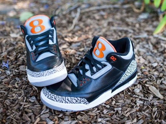 "Air Jordan III ""Oregon State"" by JP Custom Kicks"