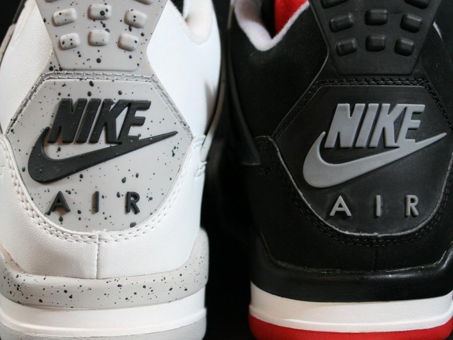 1999 air jordan 4 bred customs