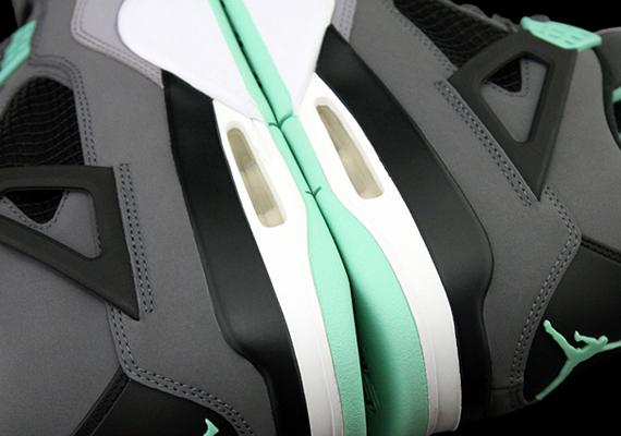 reputable site 92aa6 bad11 Air Jordan IV – Dark Grey – Green Glow – Cement Grey – Black