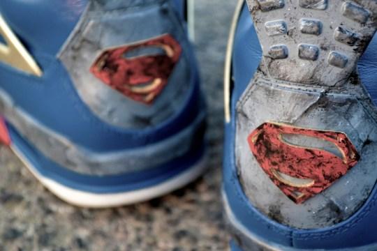 """Air Jordan IV """"Jumpman of Steel"""" Customs by Freaker Sneaks"""