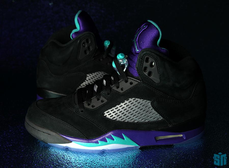 Custom Made Jordans 13 Air Jordan V Black Grape Buy