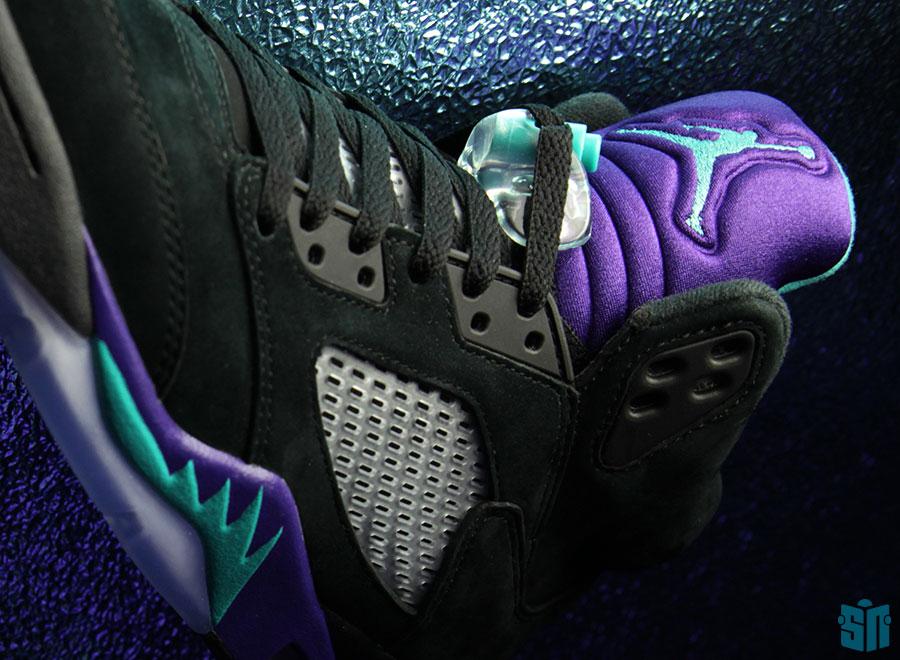 Air Jordan V   Black Grape
