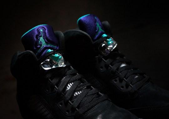 "Air Jordan V ""Black Grape"" – Release Reminder"