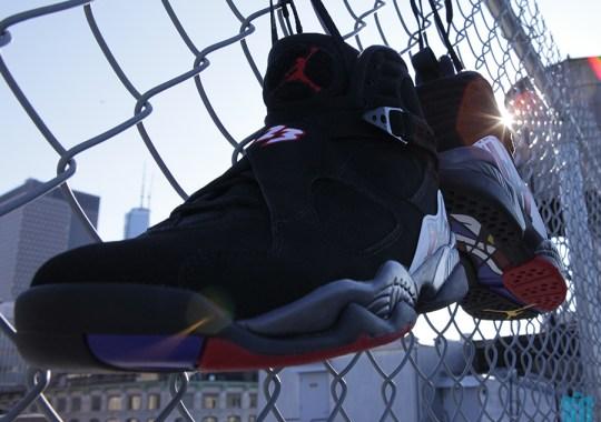 """Air Jordan VIII """"Playoffs"""" – Beauty Shots"""