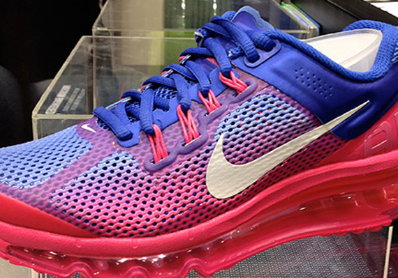 nike wmns air max 2013 hyper blue pink force