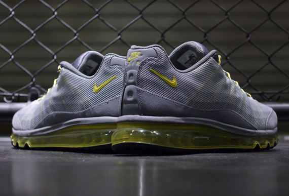 sale retailer db068 4cf31 ... canada nike air max 95 2013 dynamic flywire cool grey sonic yellow  a766a 789ae