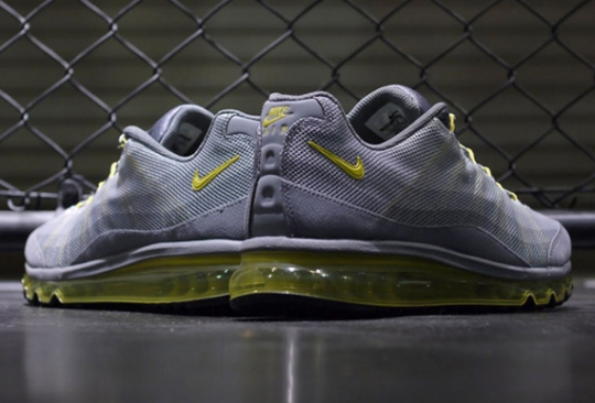 Nike Air Max 95 2013 Dynamic Flywire – Cool Grey – Sonic Yellow