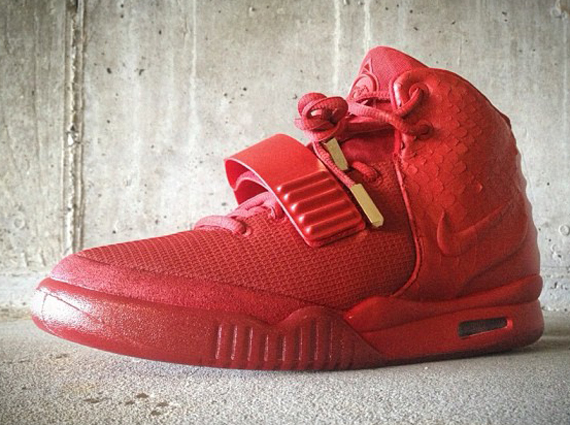 Nike Air Max Yeezy 2 Red October