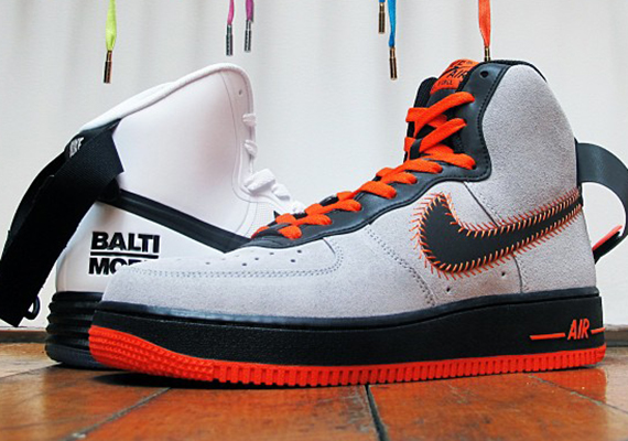 Nike Air Force 1 High Pack Baltimore Pack High Fecha De Lanzamiento bfb34c