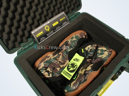 "Nike Air Foamposite Pro ""Camo"" – Special Edition Packaging"