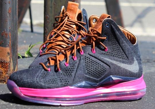 """huge selection of 63895 24543 Nike LeBron X EXT """"Denim"""" – Release Reminder"""