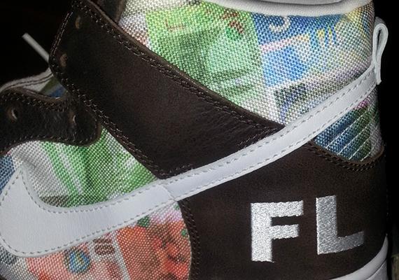 Futura x Nike SB Dunk High \