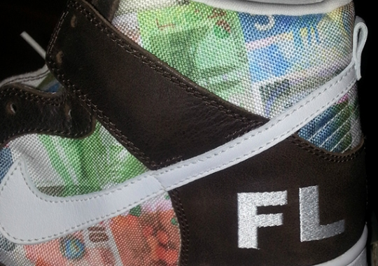 "Futura x Nike SB Dunk High ""FLOM"" – Available on eBay"