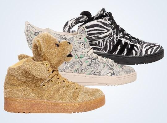 Jeremy Scott x adidas Originals Fall/Winter 2013 Footwear Preview
