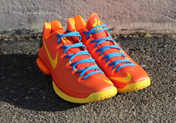 """Nike KD V Elite """"Team Orange"""" - Release Reminder ..."""