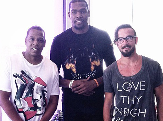 Kevin Durant Joins Roc Nation Sports - SneakerNews.com