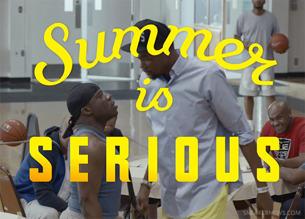 Kevin Durant and Nike Basketball quot Summer Is Seriousquot Video