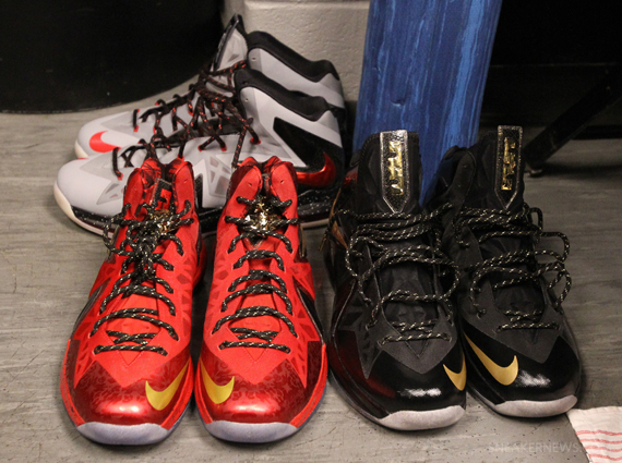 336bb0852f6 LeBron James  2013 NBA Finals Sneakers - SneakerNews.com