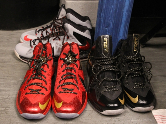 LeBron James' 2013 NBA Finals Sneakers