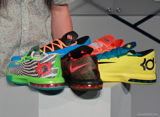 Nike KD VI – Release Dates