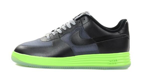 low priced 17186 469ff Nike Lunar Force 1 Low - Black - Neon - SneakerNews.com