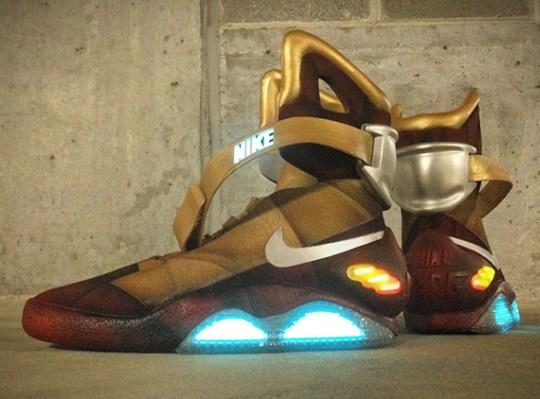 "Nike Mag ""Ironman"" Customs by Mache"