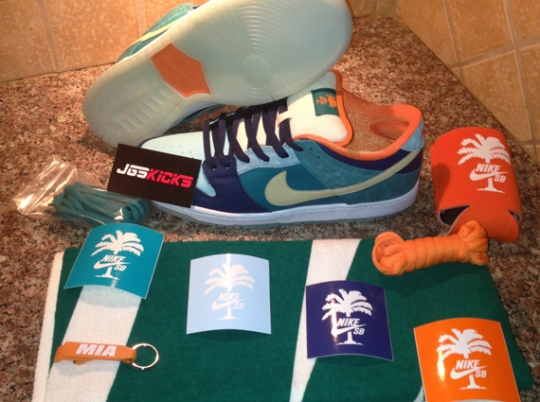 MIA Skateshop x Nike SB 10 Year Anniversary Set on eBay