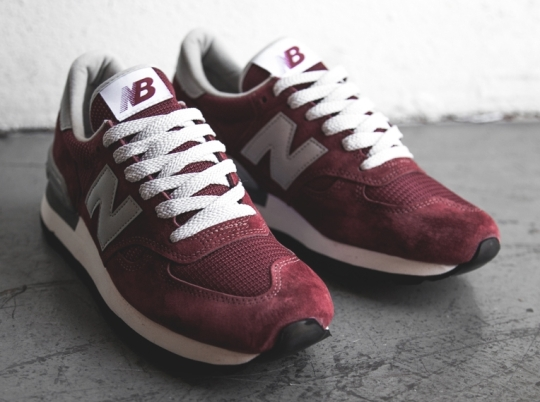 "New Balance 990 ""30th Anniversary"" – Burgundy 