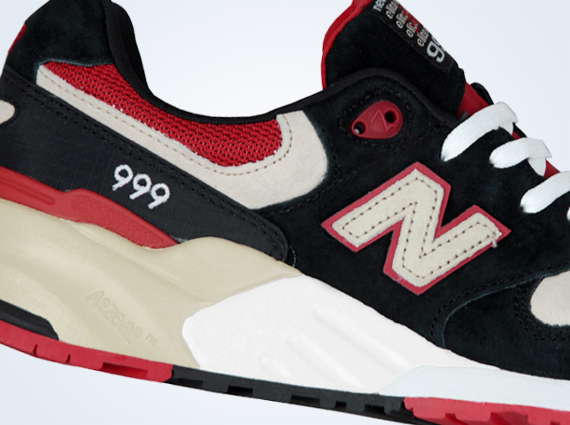 New Balance 999 Elite Edition – Black – Red 2cf2a8a57