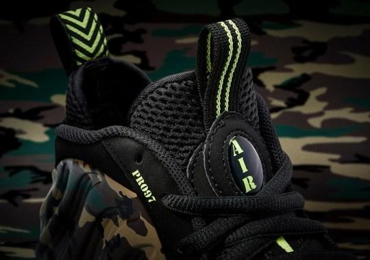 9a6db9e30e Nike Air Foamposite Pro  Camo  - SneakerNews.com