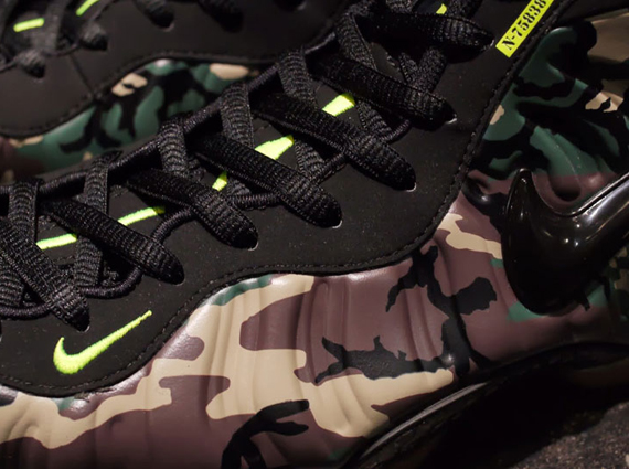 "Nike Air Foamposite Pro ""Camo"" – Arriving at Asia Retailers"