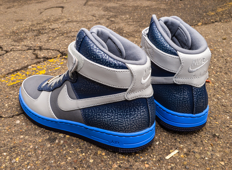brand new 5a5c4 b024e hot sale 2017 Nike Air Force 1 Downtown High Cool Grey Blue