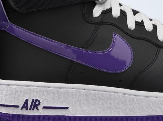 Nike Air Force 1 High - Black - Court