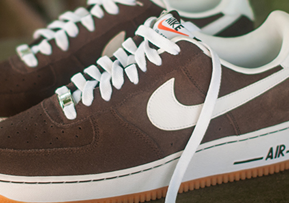 Brown Baroque Force 1 Low Gum Nike Air vN8Onm0w
