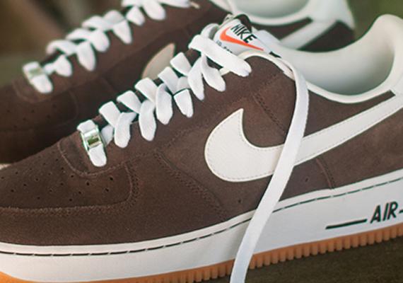 Baroque Nike 1 Low Air Gum Force Brown drthQs
