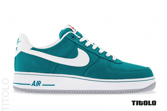 Nike Air Force 1 Tropical Teal/White-Wolf Grey 488298 310