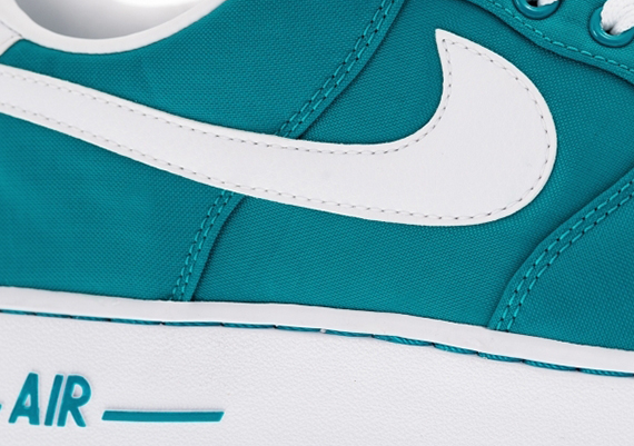 brand new 0ea00 a5c9f Nike Air Force 1 Low – Tropical Teal – White – Wolf Grey