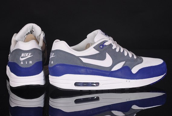Nike Air Max 1 Essential Deep Royal Blue Grey White
