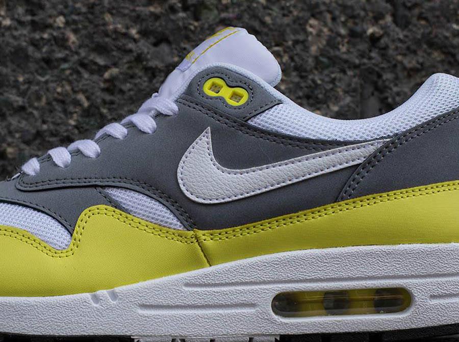 Nike Air Max 1 Essential Grey White Yellow