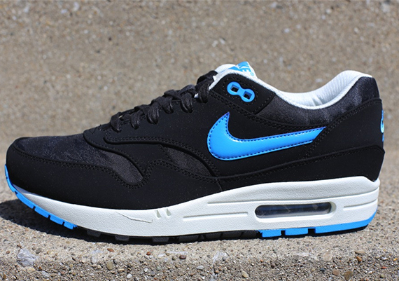 Nike Air Max 1 PRM Jacquard Pack Black Blue Hero