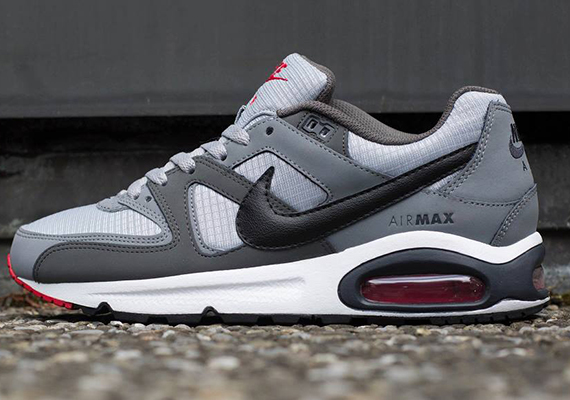 air max command bianche e nere
