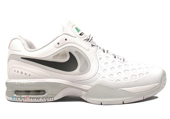 innovative design 90673 793db Nike Air Max Courtballistec 4.3. White Black-Pure Platinum-Court Green  487986-101