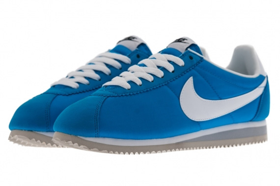 new product 5ece7 ede5d Nike Classic Cortez Nylon - Blue Hero - White - Wolf Grey ...