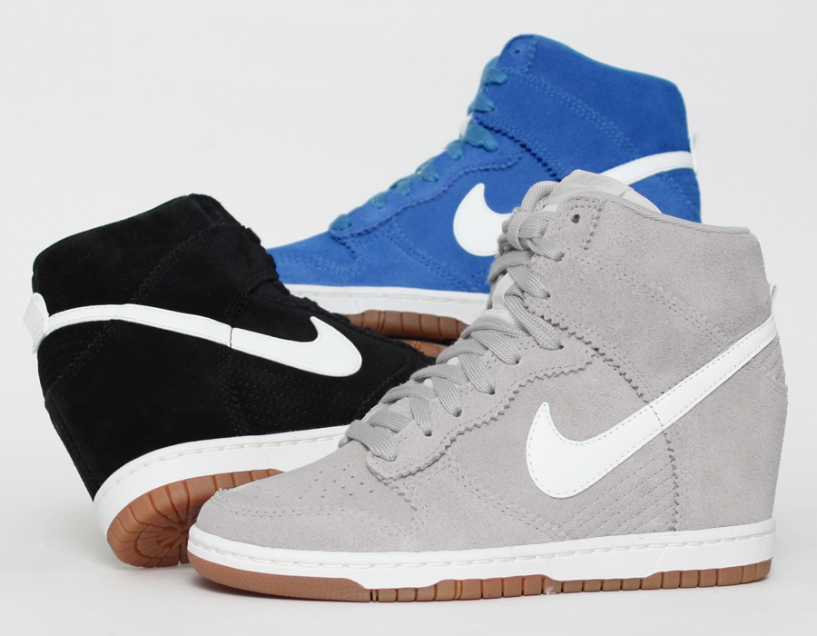 nike wmns dunk sky hi july 2013 releases