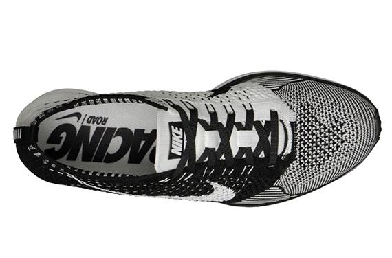 Nike Flyknit Racer Noir Boutique Blanc pf3j41ow