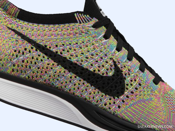 Spain Womens Nike Flyknit Racer - 2013 06 29 Nike Flyknit Racer Multi Color Available