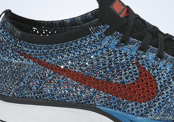 b6250291d55c Nike Flyknit Racer - Neo Turquoise - Bright Crimson - SneakerNews.com