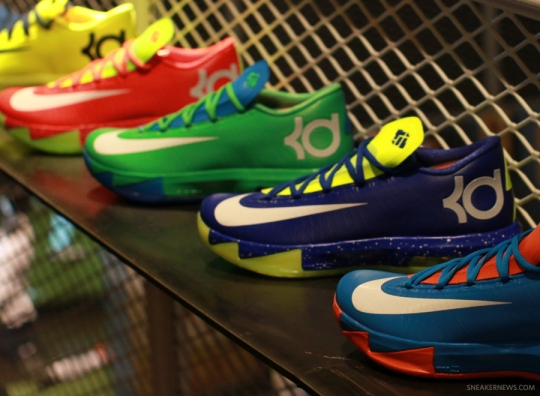 Nike KD VI iD Preview